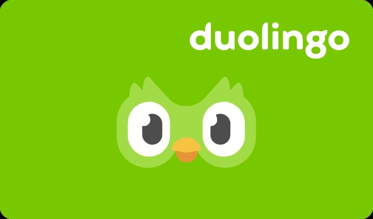 Duolingo card